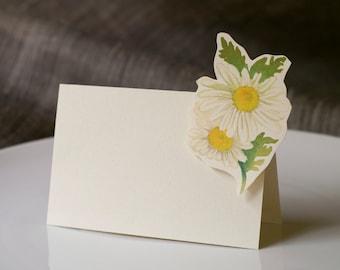 Daisy - Place Card - Escort Card - Gift Card  - Menu card weddings events