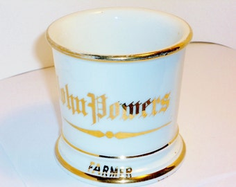 Vintage John Powers Farmer Occupation Cup, Home