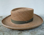 Vintage Planters Straw Hat Puerto Fino