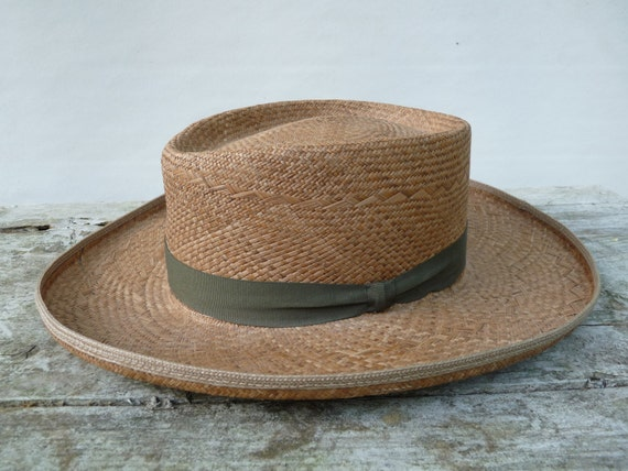 Vintage Planters Straw Hat Puerto Fino By AntoinettesWhims On Etsy