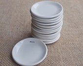 Wholesale 14 Handmade Porcelain Salt Dishes, Mrs Peterson Pottery - MrsPetersonPottery
