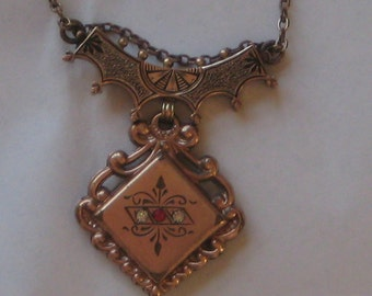 Make Something Out Of Me Victorian Gold Filled Necklace