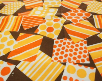 Vintage 1969 Fabric Remnant