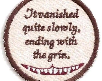 Alice in Wonderland, Cheshire Cat Patch