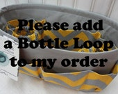 """Please add a BOTTLE LOOP to my organizer / This is an """"add on option"""" to your organizer purchase"""