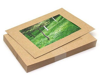 4 x 6 Photo Frames Refill / Kraft - 30 sheets (7.3 x 5.1in)