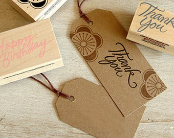 50 Standard Gift Tags / S - Kraft (1.6 x 2.8in)