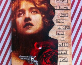 Love and a .45 Another Mature ACEO By AlteredHead