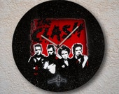 airbrushed LP - 1980 - the clash tribute