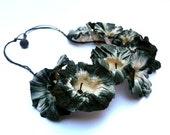 """Paper necklace """"Amarillis"""" by Ana Hagopian"""
