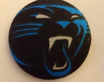 Carolina Panthers Retractable ID Badge Reel
