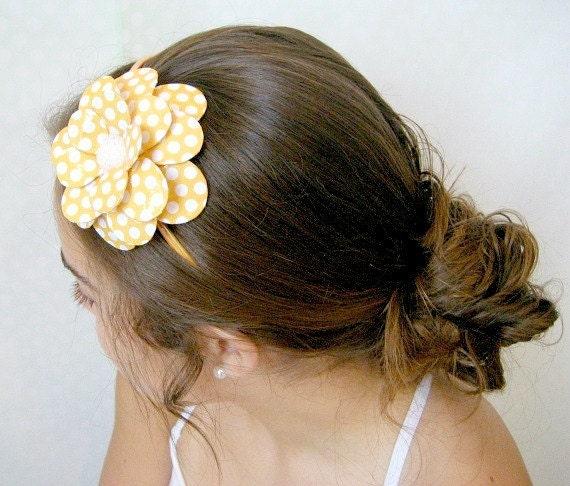 Sunny Delight Daisy Paper Mache Headband
