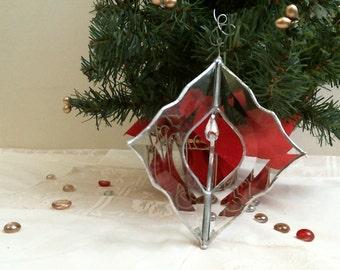 3-D Bevel stained Glass suncatcher