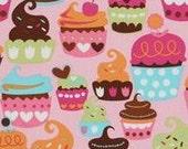 Michael Miller Sweet Treats Cupcake Cotton Yard