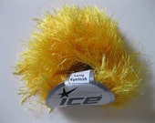 DESTASH Ice Yarn Bright Yellow Long Eyelash