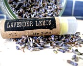 Organic Chapstick - LAVENDER LEMON Lip Lube