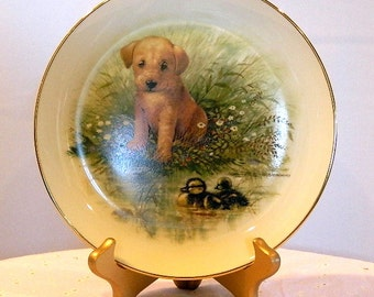 "Pickard Collectible Plate - Innocent Encounters - ""Just Passing By"""