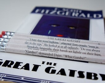 The Great Gatsby Wrapped Pencil Set