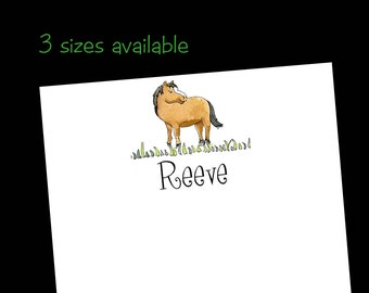Personalized Horse Notepads - 50 sheets