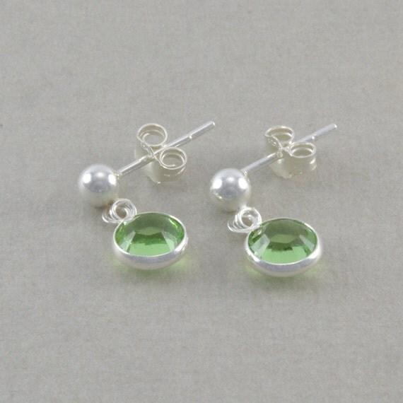 Little Girls Earrings Sterling Silver light by ...