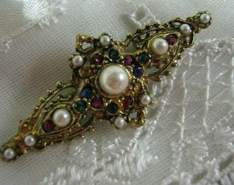 Ornate Vintage Brooch