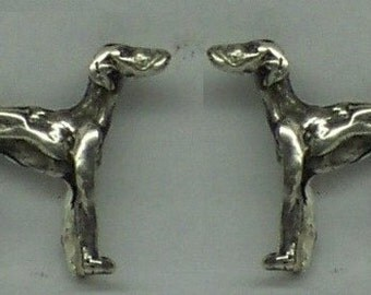 Greyhound cufflinks | Etsy