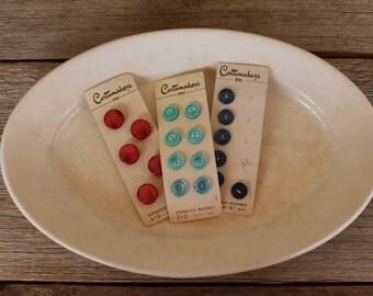 Vintage Button Collection--Patriotic