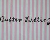 Custom listing for Shannon