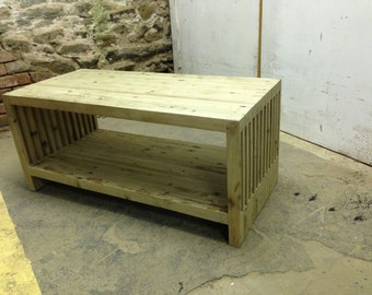 Reclaimed Wood Coffee Table- Free Shipping