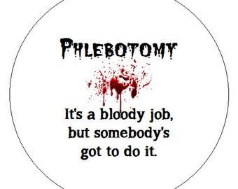 Phlebotomy Button