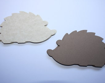 18 x Hedgehog Die Cuts
