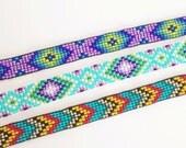 Custom Beaded Friendship Bracelet  - You choose the colors