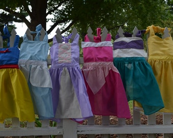 6 Princess Aprons