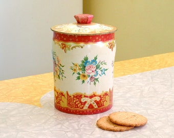 Horner's Floral Tin with Lid