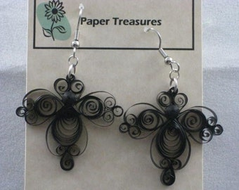 Lacy Fan Earrings