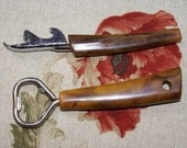 Pair of Vintage Bottle openers with Bakelite Handles
