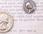 Sterling St. Dominic Savio Medal