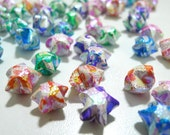 100 Tribal Lace II Pearlescent Origami Lucky Stars