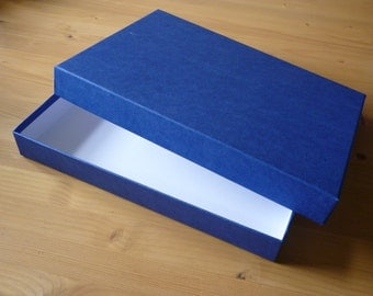 Coffee Table Book Box, Tablet Box, Blue Gift Box, Picture Frame Box, Luxury Box,