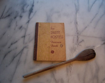 1931 General Electric Cookbook - The Silent Hostess Treasure Book