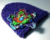 Electric Purple Slim Fit Hat
