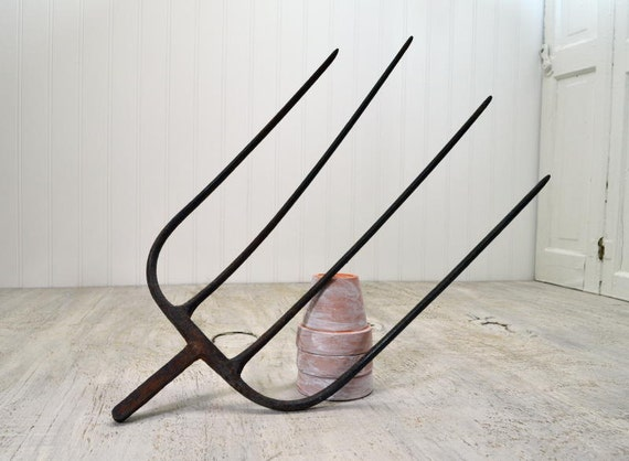 Vintage Farm Pitchfork Rustic Tool By Oldtimepickers On Etsy