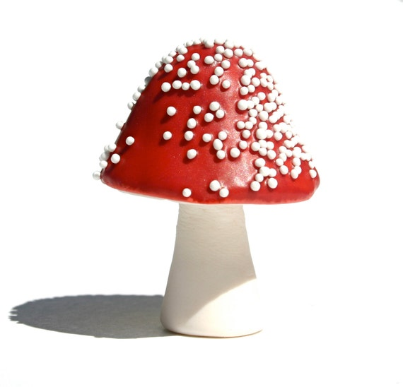 image chocolate filled toadstool white red fly agaric sweet sweets candy dessert