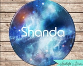 Personalized Mirror - Galaxy