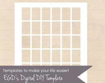 1x1.50  inch rectangles, PNG file, Instant Download