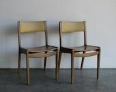 RESERVED-Mid Century Modern Gunlocke Side Chair (Set of 6)