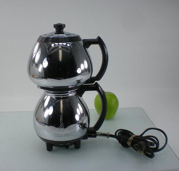 Sunbeam Chrome Coffeemaster C30A Vacuum Coffee Percolator