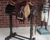 English & Western Saddle Stand