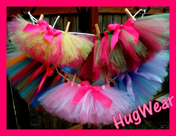 Design your own tutu.  Infant/Toddler/Child/Teen/Adult ~~Or made to match your Birthday Girls Tutu~~