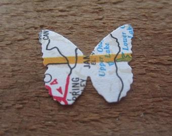 Old Map Butterflies (20)